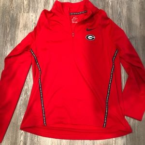 University of Georgia women's Nike pullover